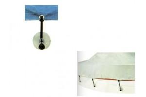 Zuignapsysteem voor boothoezen