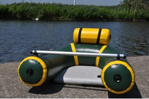 Bellyboat visboot