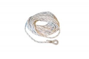 Ankerlijn polyester met koussplits