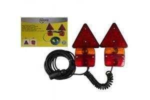 Magnetische lichtbalk set