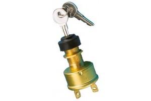 Contactslot aan-uit met sleutel
