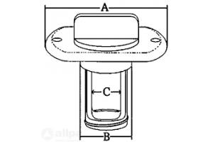 Lensplug RVS