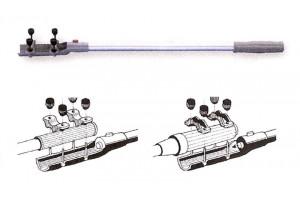 Stuurverlenger met stopknop voor op de knuppel van uw buitenboordmotor
